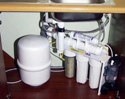 Установка фильтра очистки воды в Ульяновске, подключение фильтра для воды в г.Ульяновск
